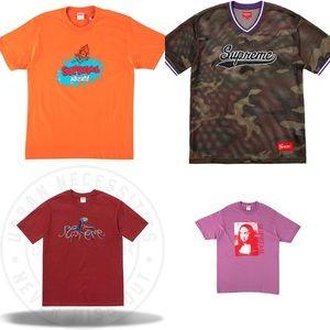 53643eb4df02 Supreme Shirts - All sz Large